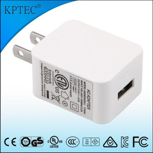 5W美规 USB 白色